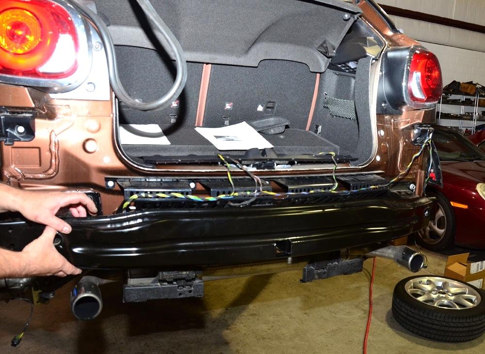 MINI Cooper Bike Rack and Hitch Install EuroHaus MINI Cooper Repair