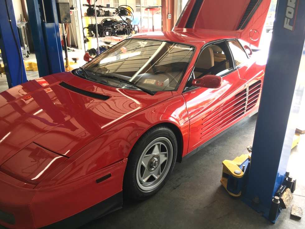 Ferrari Valve Job and Head Gaskets EuroHaus Ferrari Repair