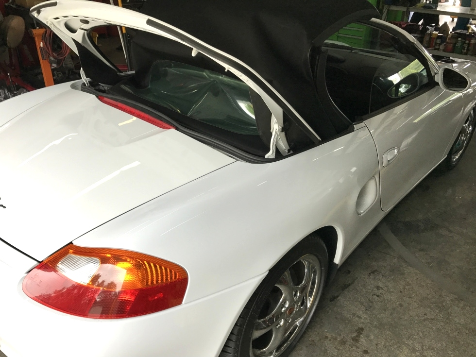 Porsche Boxster Convertable Top Repair EuroHaus Porsche Repair