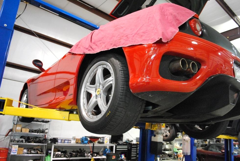 Ferrari Repair EuroHaus MotorSports EuroHaus Ferrari Repair