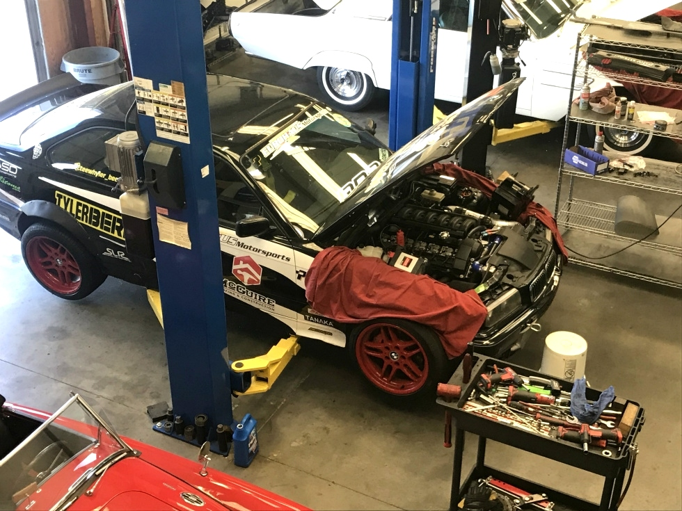 Drift Car Service And Repair | BMW E36 Drift Car EuroHaus BMW Repair