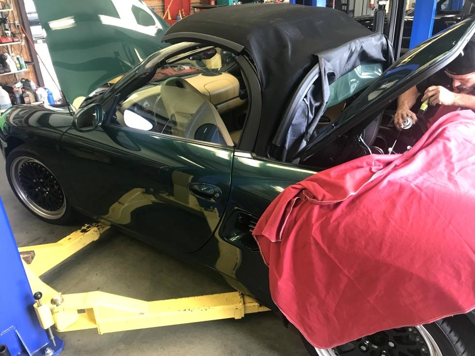 Porsche Boxster Power Steering Pump Repair EuroHaus Porsche Repair