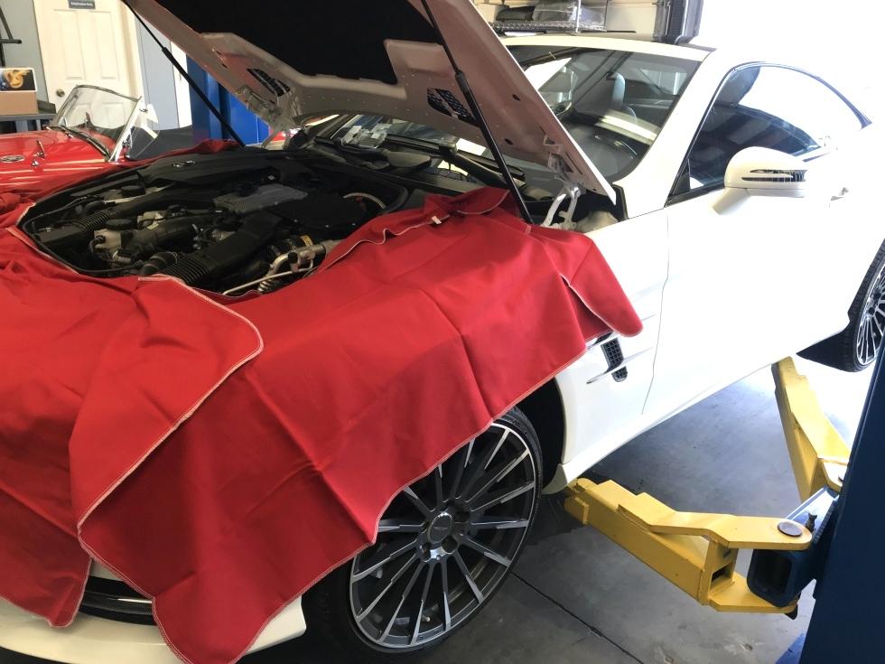 Mercedes Benz Oil Service and Repair EuroHaus Mercedes Repair
