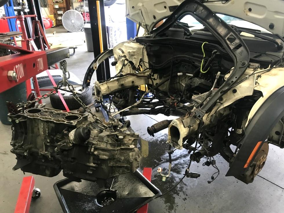 MINI Cooper Engine Replacement EuroHaus MINI Cooper Repair