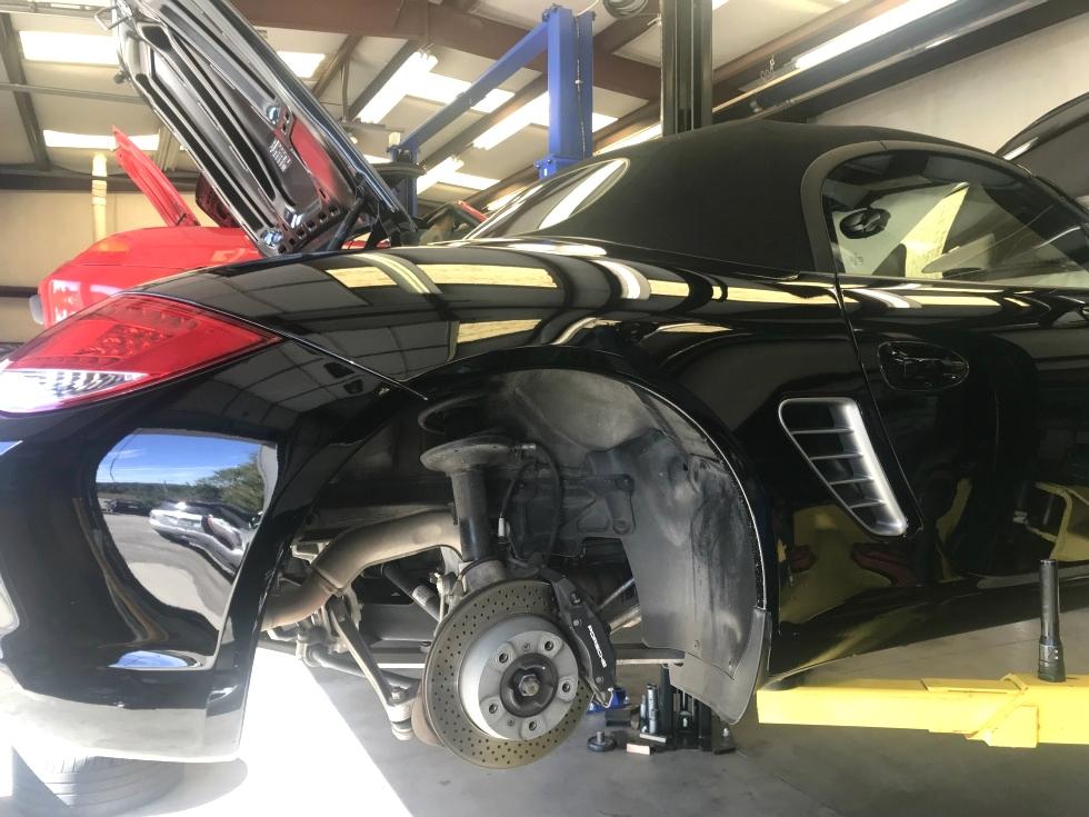 Porsche Oil Service and Brake Fluid Flush EuroHaus Porsche Repair