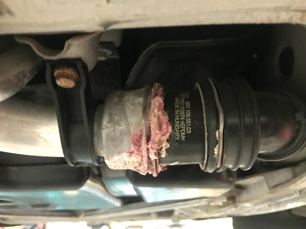 Porsche Coolant Leak EuroHaus Porsche Repair