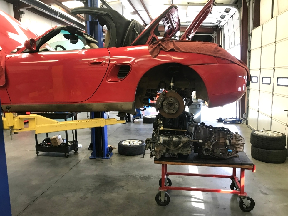 Porsche IMS Bearing Upgrade EuroHaus Porsche Repair