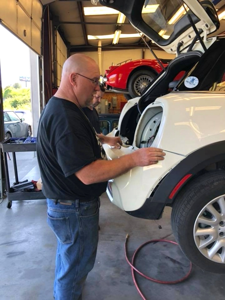 MINI do More MINI Cooper towing hitches EuroHaus MINI Cooper Repair