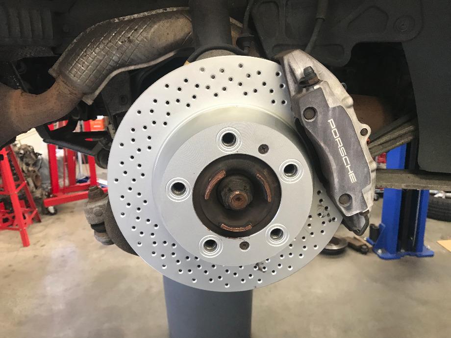 Porsche Brake Service EuroHaus Porsche Repair