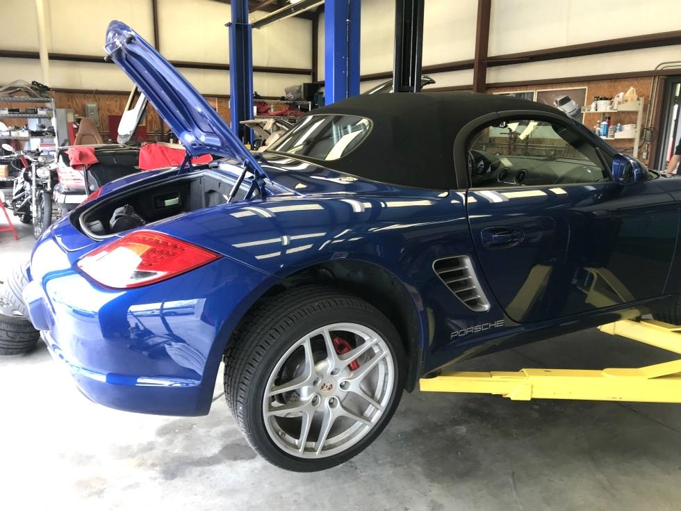 Porsche Boxster Repair EuroHaus Porsche Repair