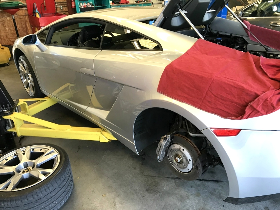 Lamborghini Gallardo Factory Service Knoxville Tennessee EuroHaus Lamborghini Repair
