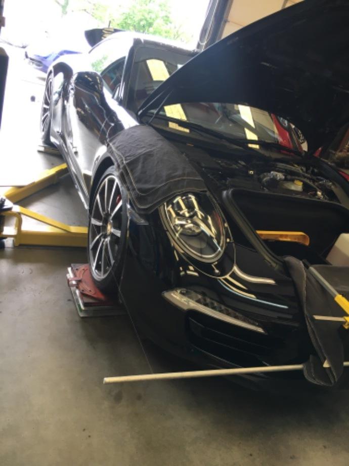 Porsche 991 C4S Bilstein Coilovers EuroHaus Porsche Repair