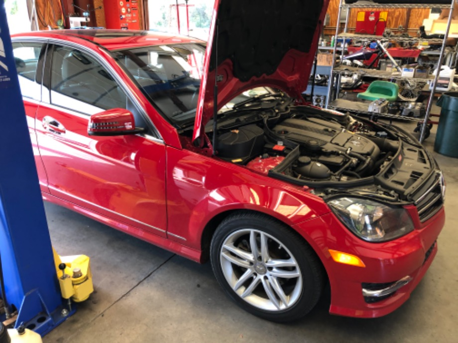 Mercedes Benz C250 Repair EuroHaus Mercedes Repair