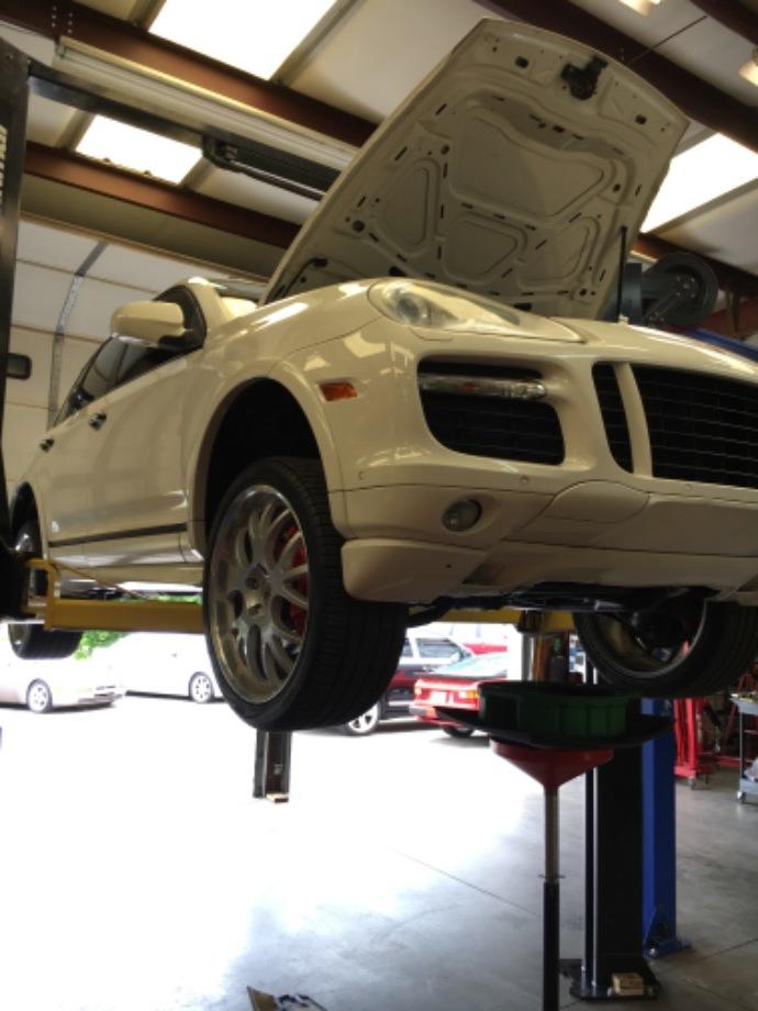 Porsche Cayenne Maintenance Service  EuroHaus Porsche Repair