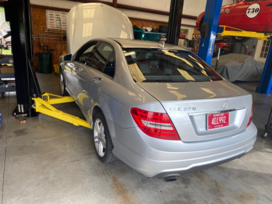 Mercedes Benz C250 Service EuroHaus Mercedes Repair
